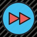 audio, fast, forward, multimedia, music, sound