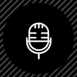 audio, media, mike, multimedia, music, photography, speaker, video icon