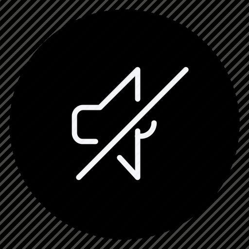 audio, media, multimedia, music, mute speaker, photography, video icon