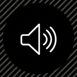 audio, media, multimedia, music, photography, speaker, video icon