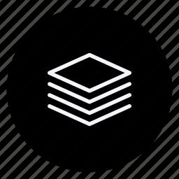 layer, media, multimedia, multitab, music, photography, video icon