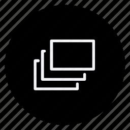 audio, media, multimedia, multitab, music, photography, video icon