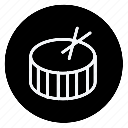 audio, drum, media, multimedia, music, photography, video icon