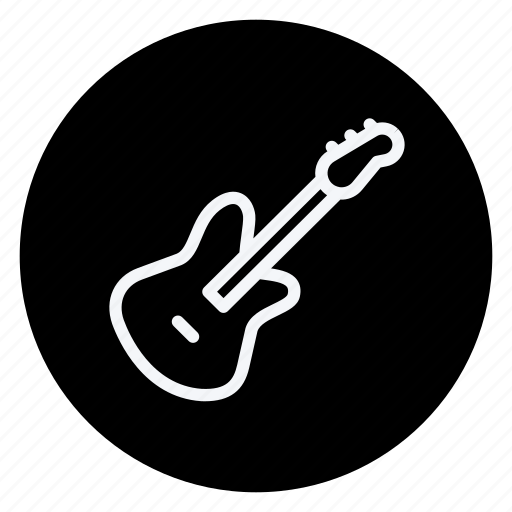 audio, guiter, media, multimedia, music, photography, video icon
