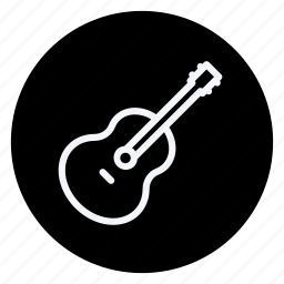 audio, guiter, media, multimedia, music, photography, video icon