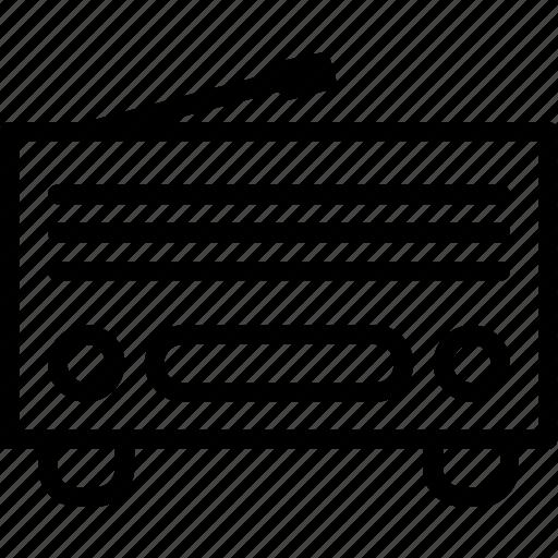 antenna, multimedia, radio, station icon