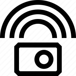 bluetooth, camera, network, signal icon