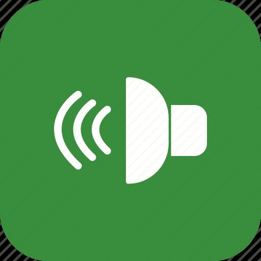 audio, loud speaker, sound, speaker icon