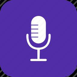 audio, mic, microphone, recording, sound, speak, voice icon