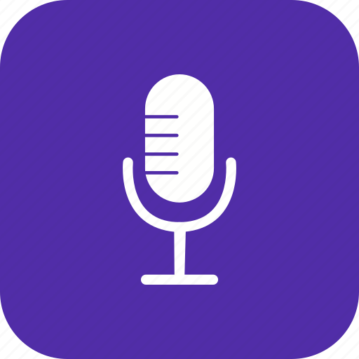 Microphone, recording, voice recorder icon - Download on Iconfinder