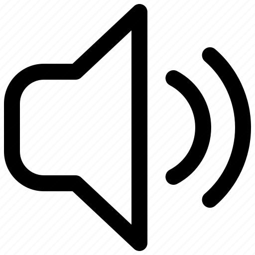 Audio, multimedia, music, speaker, volume icon - Download on Iconfinder