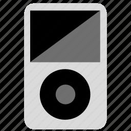 apple, audio, classic, device, ipod, mp3, mp3 player, music, nano, play, sound, volume icon
