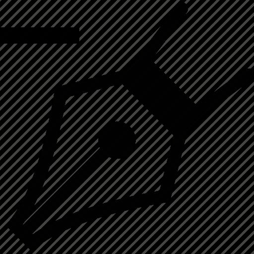 anchor, delete, edit, pen, point, remove icon