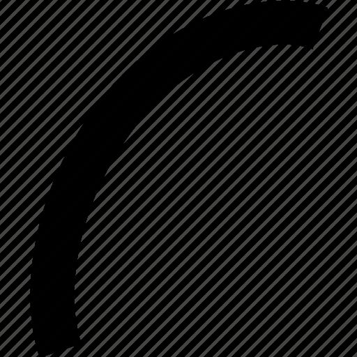 arc, design, edit, paint, tool icon