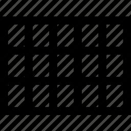 design, grid, net, rectangular, tool, web icon