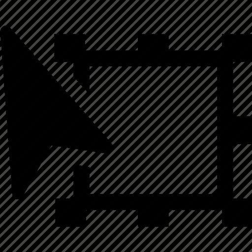 arrow, creative, design, hand, tool, transform icon