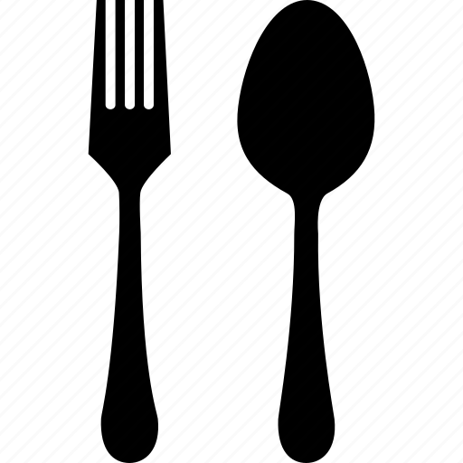 cutlery, fork, setting, spoon icon