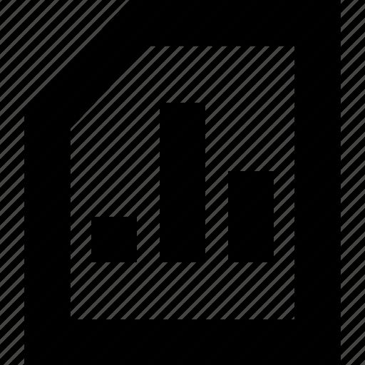 document, file, folder, presentation icon