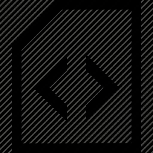 coding, documen, file, folder icon