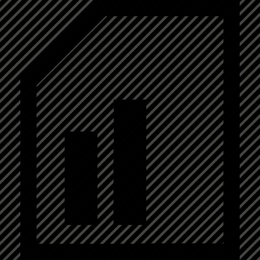 documen, file, folder, list icon