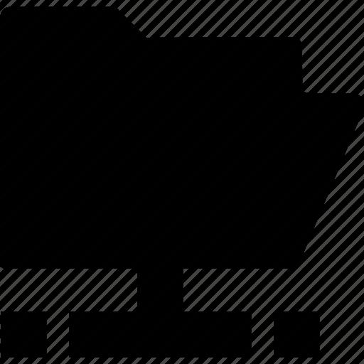 documen, file, folder, server icon