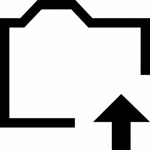 arrow, document, file, folder, top icon