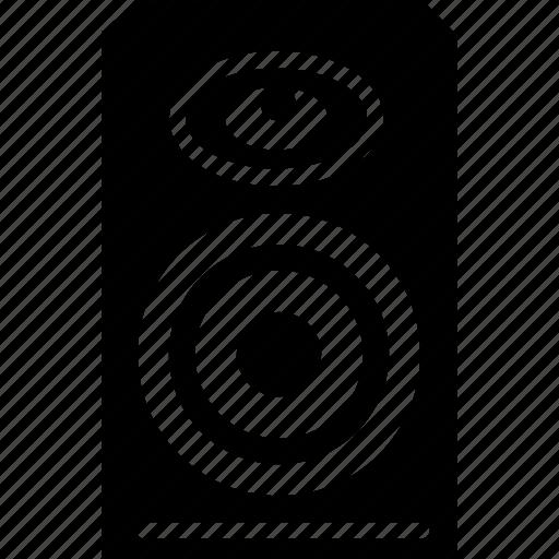 bass, music, sound, speaker icon