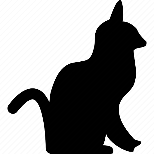 animal, cat, loyal, pet icon