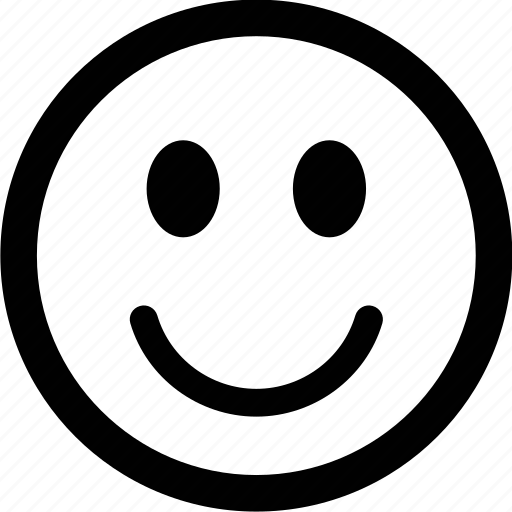 emoticon, face, pleased, smile icon