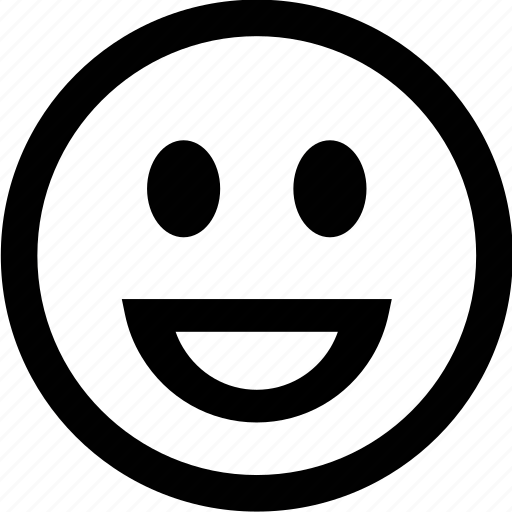 emoticon, face, grin, smile icon