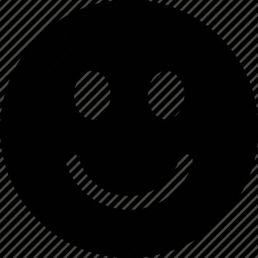 emoticon, face, pleased, smile icon