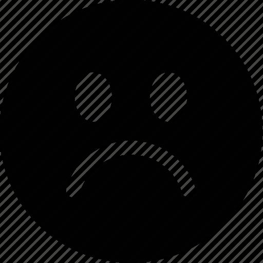 cry, emoticon, face, sad icon