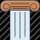 pillar, ancient, column, old, pylon icon