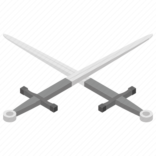 fighter symbol, knife, military logo, protection symbol, swords icon