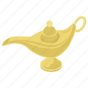 aladdin lamp, genie lamp, gentle lamp, magic lamp, oil lamp icon