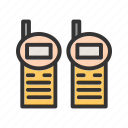 communication, military, radio, soldier, talkie, talking, walkie icon