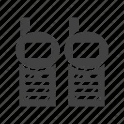 communication, military, radio, soldier, talkie, talking, walkie icon