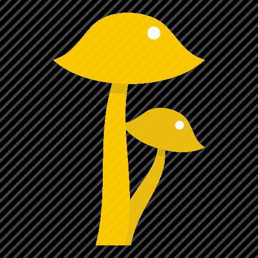agaric, amanita, autumn, cap, forest, fresh, honey fungus icon