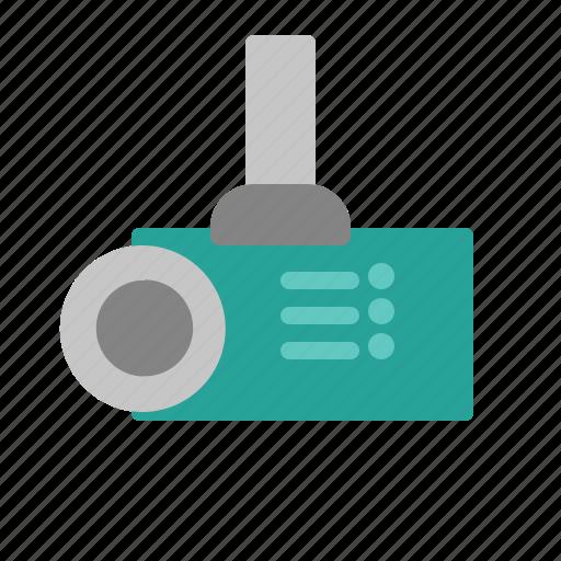 instrument, monitor, multimedia, presentation, projector icon
