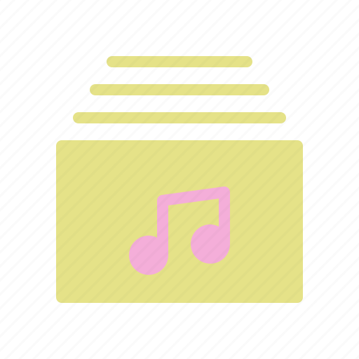 file, file music, folder music, music, song icon