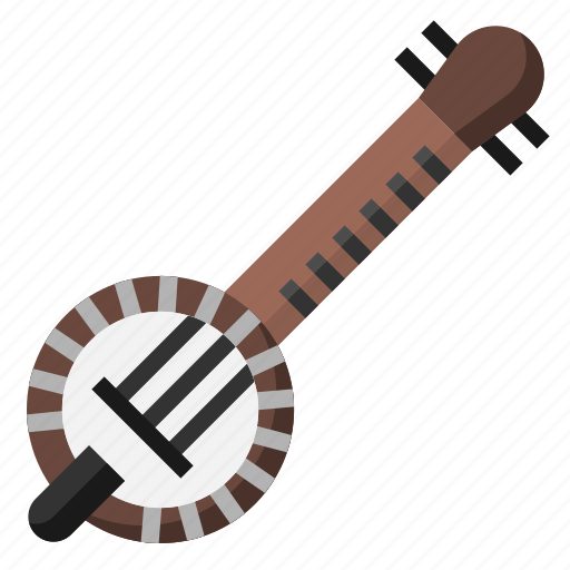 banjo, folk, instrument, music, musical, orchestra, strings icon