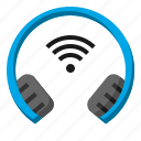 ear, headphones, microphone, music, sound icon