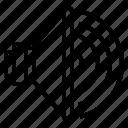 audio, music, sound, speaker, waves icon