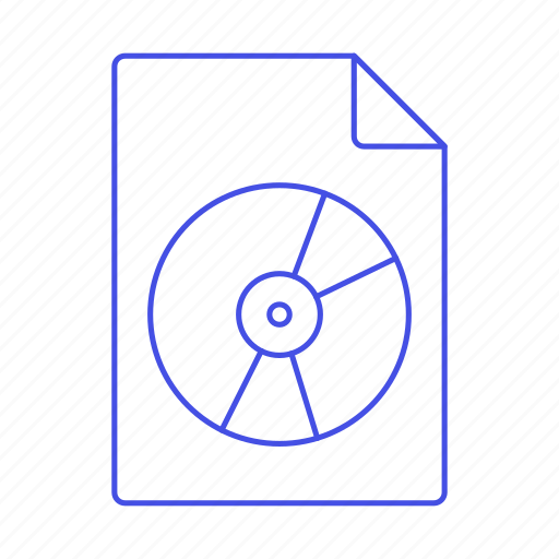 audio, cd, compact, digital, disc, file, format, music, record, sound icon