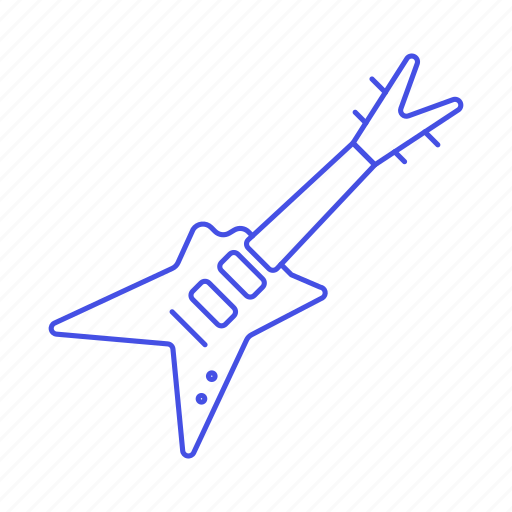 3, electric, guitar, instruments, music, plucked, string icon