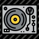 dj, mix, music, turntable