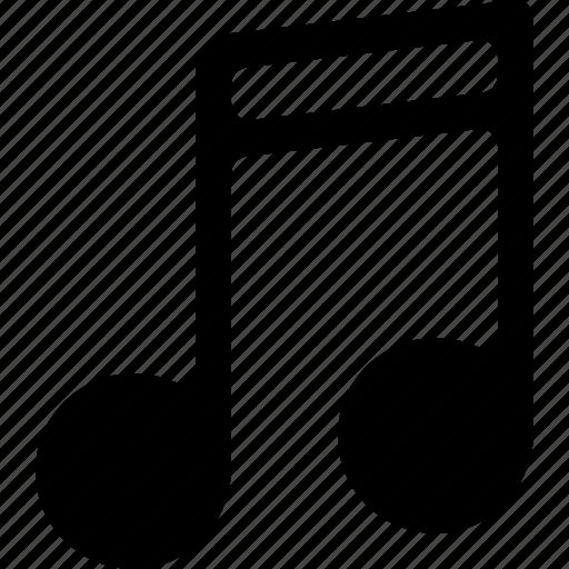 audio, music, note, tune icon