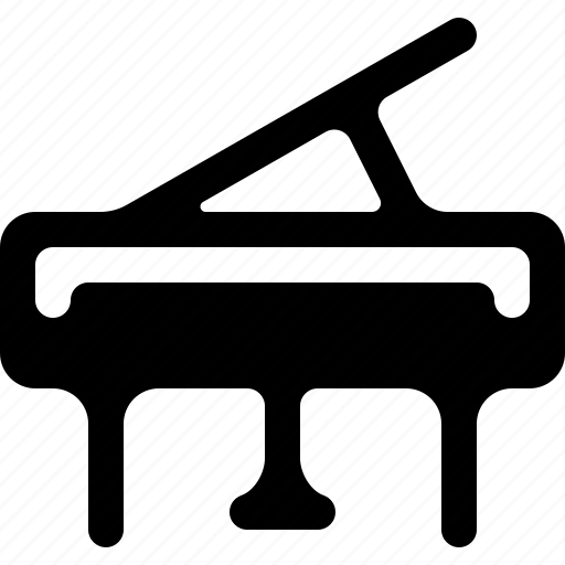 grand piano, instrument, music, musician, piano, play icon