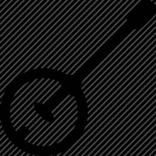 banjo, instrument, music, sound icon