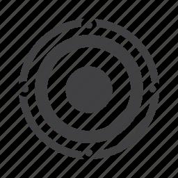 audio, loudspeaker, music, sound, speaker, subwoofer icon